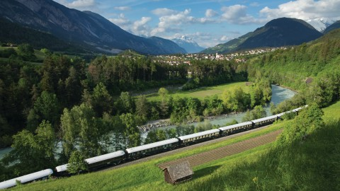 Travel through time with the Venice Simplon-Orient-Express