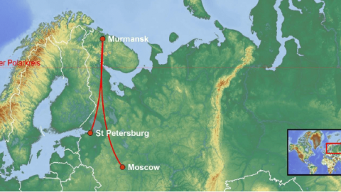 Northern Lights Explorer route